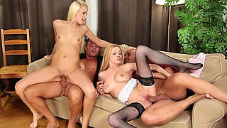 Spicy as hell babes are getting drilled hard
