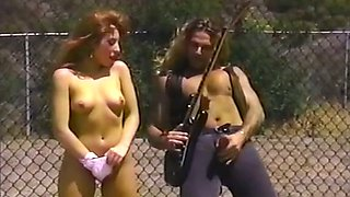 Horny and curvy redhead white chick feels horny for a sexy stud