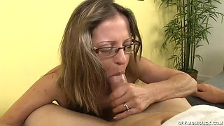 Horny Milf Wants To Suck Young Guys Cock
