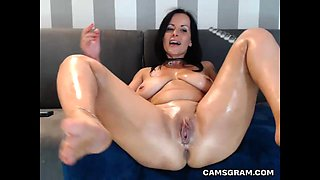 Pretty Good Big Tits Tramp Likes To Play With Her Nice Ass