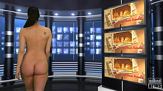 Naked News   Isabella Rossini Compilation