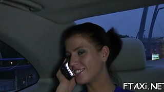 fake taxi is the best place for sex clip