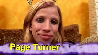Fabulous pornstar Paige Turner in best blowjob, blonde sex movie