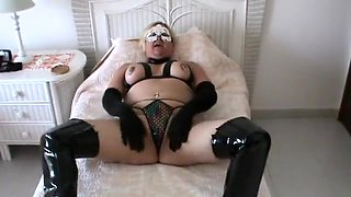 Horny Amateur record with Piercing, Fetish scenes