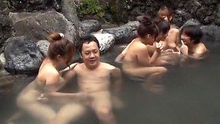 Hottest Japanese whore Chihiro Manaka, Kei Nishizono, Rio Hamasaki in Horny Outdoor, Shower JAV movie