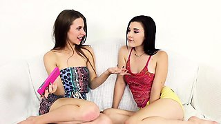 FamilyStrokes - Sisters Tease and Fuck Step Brother
