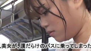 Horny Japanese girl Reon Otowa, Yuka Kojima, Hitomi Kitagawa in Crazy Bus, Big Tits JAV video