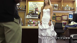 real bride sells herself at pawn shop