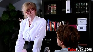 Stepmom tutors young son about manhood