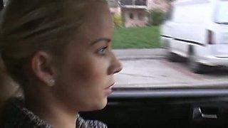 Sex heat in the car - Cindy Dollar