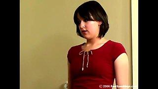 Schoolgirls spanked hard (3 scenes)
