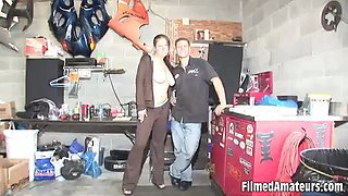 Sexy girls having fun like sluts