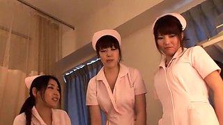 Amazing Japanese girl Rina Fukada, Ran Katsuki, Haruna Saeki in Hottest Group Sex JAV clip