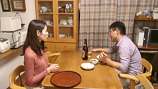 A Japanese Housewife Fucked By The Guy Next Door