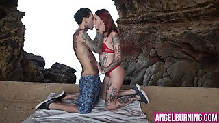 Charming emo chick has her way with her special boy toy