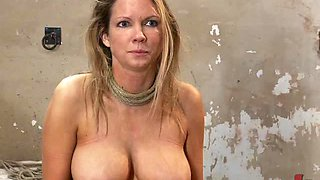Blonde Bimbo Is Kidnapped & Forced To Take Dick & Orgasm