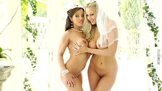 Francesca Le and Julia Ann are getting naked
