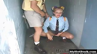 Dirty old man Max, has some blonde girl, Anastasia Blue cornered