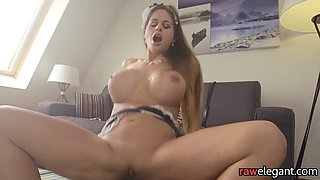Bigbooty MILF drilled in maid outfit