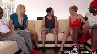 dee williams & london river do bbc anal in front of step son