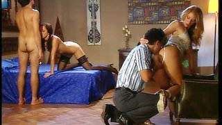 Double Penetration For Alexa May In FFMM Forusome With Julia Taylor