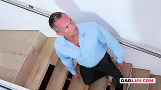 Nikki is approached and fucked hard by her very horny boss