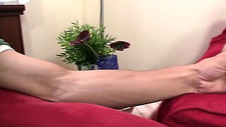 Cock-horny old granny rides son-in-law cock