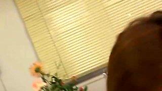 Hitomi Hasegawa Hot Asian nurse gives great head