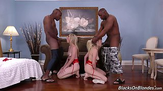 black duet give no rest to white blonde hoes cadence lux and riley reyes