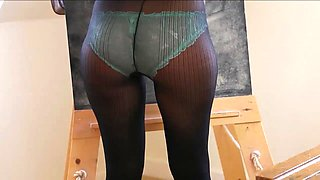 schoolgirl in tights strips for you D10