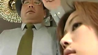 Japanese milf was groped by 2 cock on the bus pt2 on hdmilfcam.com