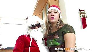 CARNE DEL MERCADO - Christmas fuck with Colombian