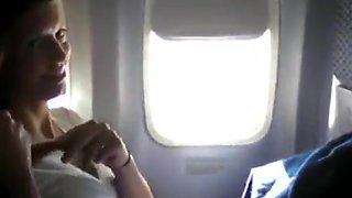 Airplane masturbation