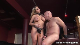 Mistress Nicolette & Tom Moore in Mistress Nicolette Fucks Her Pig Slave's Face & Ass - BestGonzo