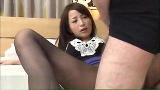 Japanese teen black pantyhose fetish sex