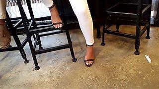 Amazing homemade Foot Fetish, Voyeur xxx video