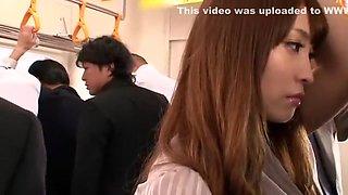 Best Japanese chick Kokomi Sakura in Crazy Public, Secretary JAV scene