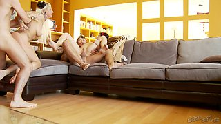 Couch Foursome BurningAngel Video