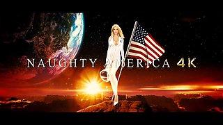 Victoria June fucked on the desk - POV Naughty America