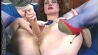 Big Ass MILF fucked in vintage action