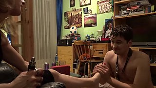 Homemade french mistress with young girl (part 1)