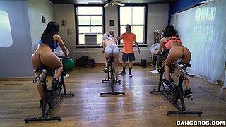 hot training session