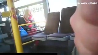 Public wanks in Train and Bus