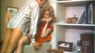Gorgeous blondie seduces her boss and fucks on copy machine