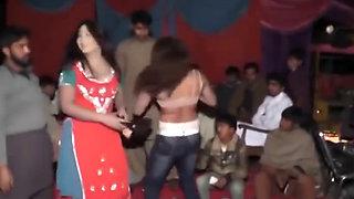Hot Desi Dance Showing Her Boobs Live   mujra