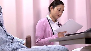 Amazing Japanese slut in Fabulous Nurse JAV movie