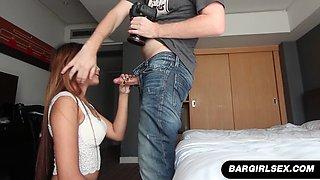 filipina bargirl ja gives a hotel room blowjob film