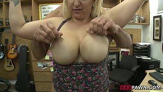 Big ass and big tits babe slammed good