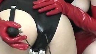 Crazy homemade Big Tits, Lesbian sex scene