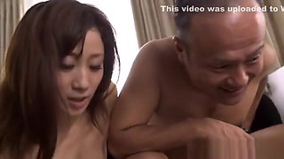 Hot Japanese model is a nasty gal in her sexy lingerie